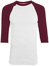 Shepherd Of The Valley Lutheran Youth Colorblock Raglan Jersey
