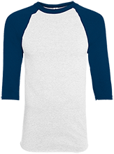 Lansing Eastern High School Quakers Adult Colorblock Raglan Jersey
