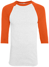 Team Granite Arch Rock Climbing Adult Colorblock Raglan Jersey