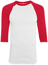 Meskwaki High School Warriors Adult Colorblock Raglan Jersey
