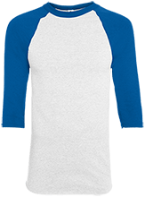 Shoals High School Jug Rox Adult Colorblock Raglan Jersey