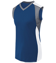 Annunciation School School Womens V-Neck Sleeveless Uniform Jersey