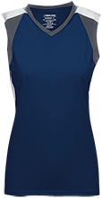 Laguna Blanca High School Owls Womens V-Neck Sleeveless Uniform Jersey