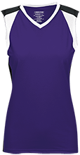 EVIT Womens V-Neck Sleeveless Uniform Jersey