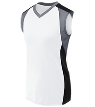 Eisenhower Elementary School Eagles Women's V-Neck Sleeveless Uniform Jersey
