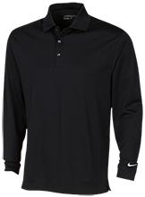 Parkview Elementary School White Bears Nike Long Sleeve Polo