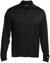 Baker Elementary School Bobcats Nike Long Sleeve Polo