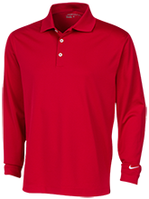 Vernon E Greer Middle School Mustangs Nike Long Sleeve Polo