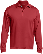 Eisenhower HS (Blue Island) Cardinals Nike Long Sleeve Polo