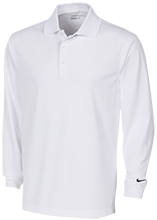 Oakview Elementary School Acorns Nike Long Sleeve Polo