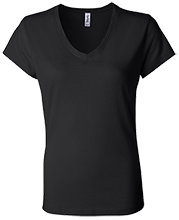 Manchester East Soccer Bella+Canvas Ladies Jersey V-Neck T-Shirt