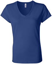 Malverne High School Bella+Canvas Ladies Jersey V-Neck T-Shirt