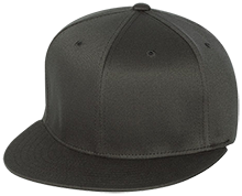 Superior Central School Cougars Flat Bill Twill Flexfit Cap