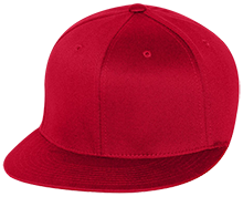 Baker Elementary School Braves Flat Bill Twill Flexfit Cap