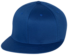 Hopewell Memorial Junior High School Vikings Flat Bill Twill Flexfit Cap