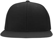 Topeka High School Trojans Flat Bill Twill Flexfit Cap