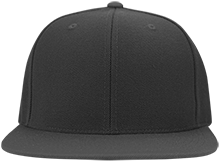 Coe College School Flat Bill Twill Flexfit Cap