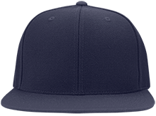 Lansing Eastern High School Quakers Flat Bill Twill Flexfit Cap