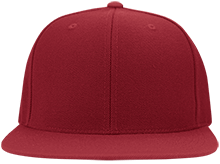 Meskwaki High School Warriors Flat Bill Twill Flexfit Cap