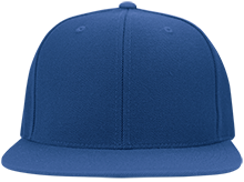 Hillside School School Flat Bill Twill Flexfit Cap