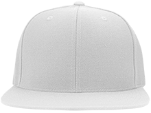 Fairmount Public School School Flat Bill Twill Flexfit Cap