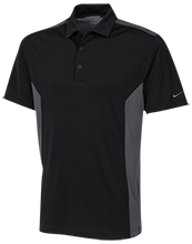 Lovell Middle School Mustangs Nike Golf Dri-Fit Colorblock Mesh Polo
