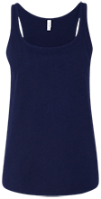 Lansing Eastern High School Quakers Bella + Canvas Ladies Relaxed Jersey Tank