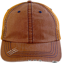 Baileys Elementary Tigers Distressed Unstructured Trucker Cap