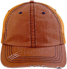 Team Granite Arch Rock Climbing Distressed Unstructured Trucker Cap