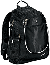 Central School Green Waves Rugged Bookbag