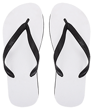 Meskwaki High School Warriors Large Flip Flops