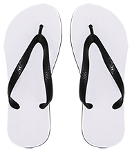 Meskwaki High School Warriors Medium Flip Flops