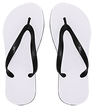 Lansing Eastern High School Quakers Medium Flip Flops