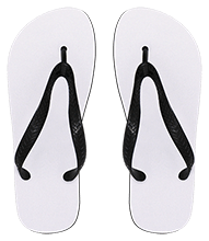 Rancho High Alumni Rams Small Flip Flops