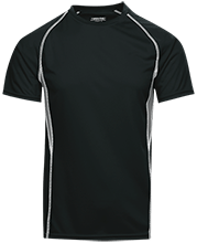 Topeka High School Trojans Adult Short Sleeve Wicking Jersey