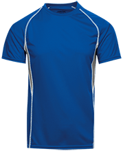 Galena City School Hawks Adult Short Sleeve Wicking Jersey