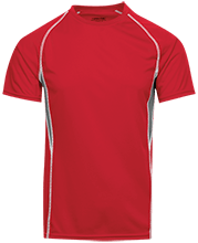 Bucyrus High School Redmen Adult Short Sleeve Wicking Jersey