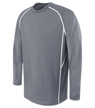 Topeka High School Trojans Adult Long Sleeve Wicking Jersey