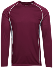 Horizon High School Hawks Adult Long Sleeve Wicking Jersey