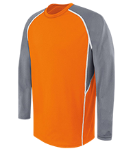 Houghton Elementary School School Adult Long Sleeve Wicking Jersey