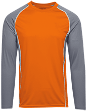 Poynette High School Pumas Adult Long Sleeve Wicking Jersey