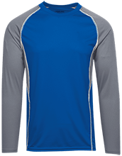 Galena City School Hawks Adult Long Sleeve Wicking Jersey