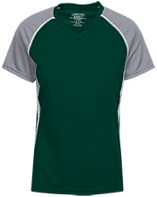 Thayer High School Bobcats Girls Short Sleeve Wicking Jersey