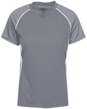 Dock Mennonite Academy Ladies SS Raglan Dri-Gear Wicking Jersey