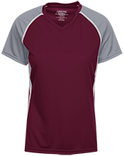 Palm Beach Central High School Broncos Ladies SS Raglan Dri-Gear Wicking Jersey