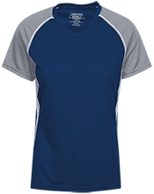 A R Carethers Academy Eagles Girls Short Sleeve Wicking Jersey