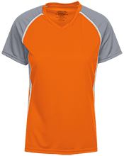 Laurens Junior High School Tigers Girls Short Sleeve Wicking Jersey