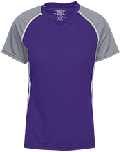 Brownsburg West Middle School Bulldogs Girls Short Sleeve Wicking Jersey