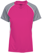 James Madison University School Girls Short Sleeve Wicking Jersey