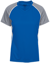Lancashire Elementary School Lions Girls Short Sleeve Wicking Jersey